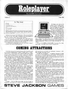 Roleplayer #02 - June 1986