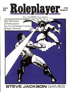 Roleplayer #15 - August 1989