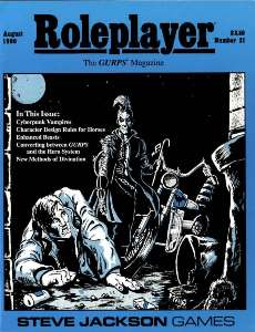 Roleplayer #21 - August 1990