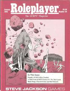 Roleplayer #30 - January 1993